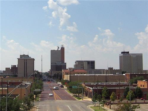 Downtown Lubbock